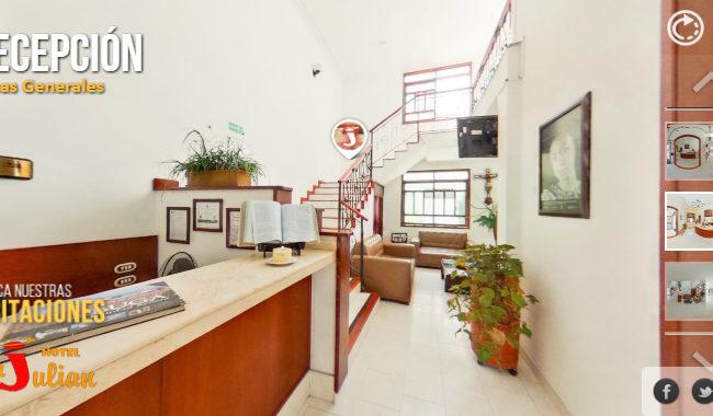 Recorridos Virtuales para Hoteles