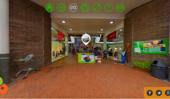 Recorridos Virtuales para Centros Comerciales
