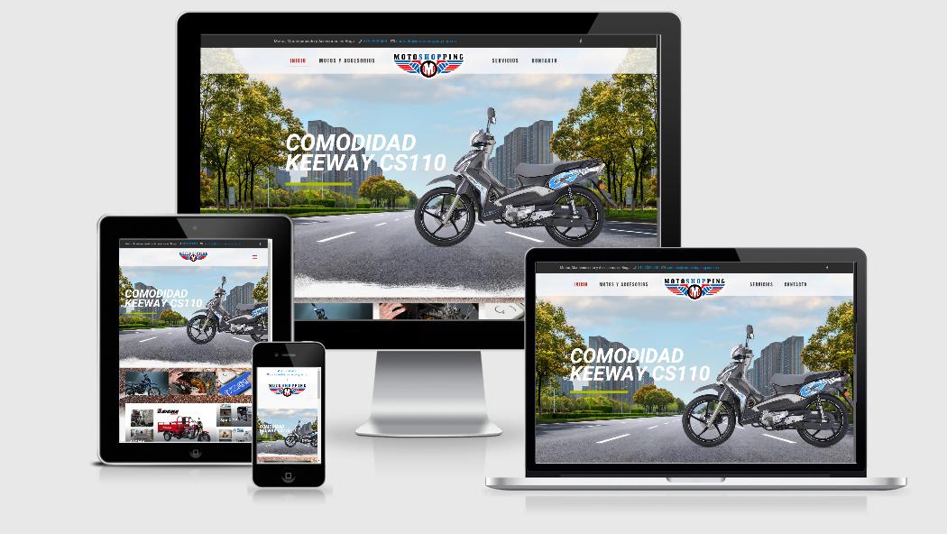 Diseño Web para concesionarios de motos en Cali