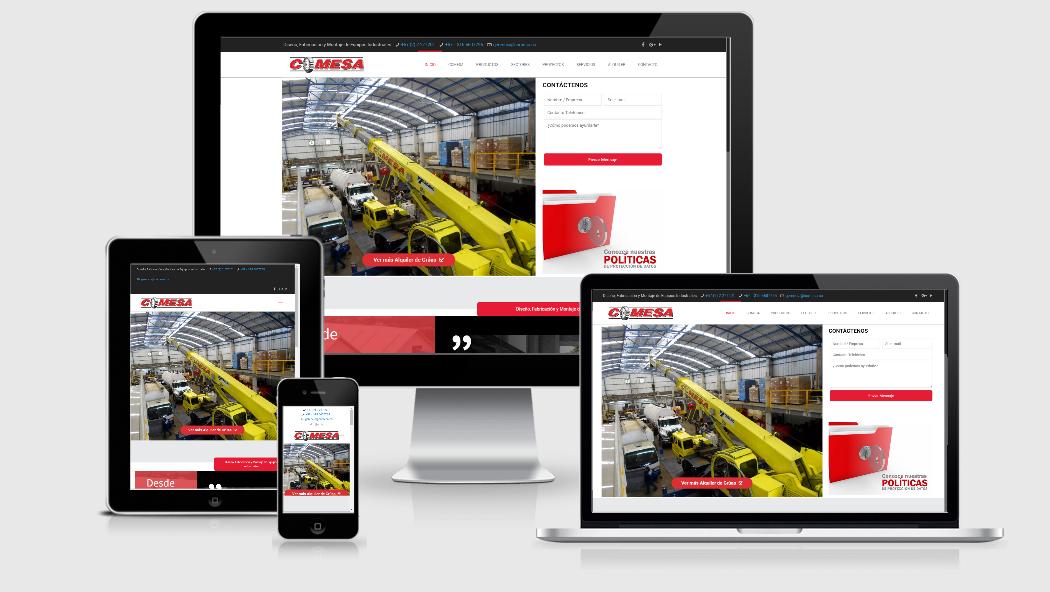 Diseño Web para Industrias