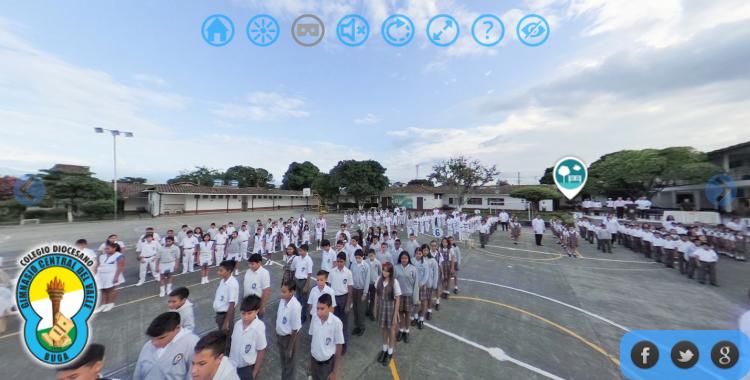 Recorridos Virtuales para Colegios por INNOVERZION.COM