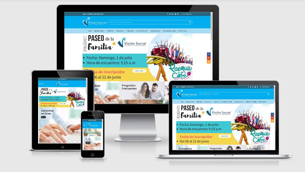 Diseño Web para Fondos de Empleados en Cali