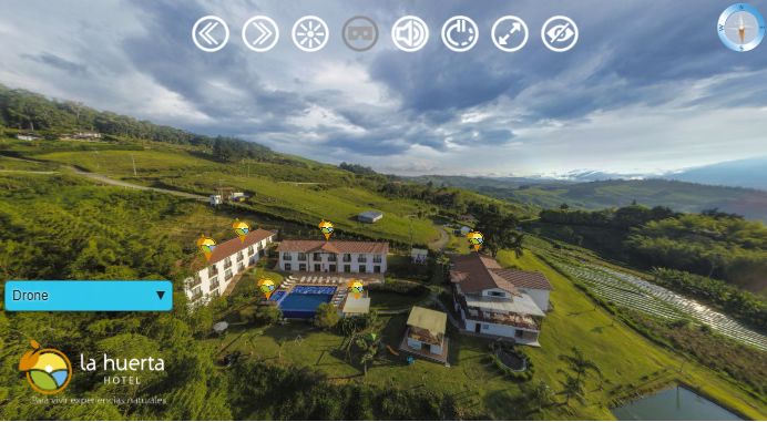 tour virtual 360 para hoteles