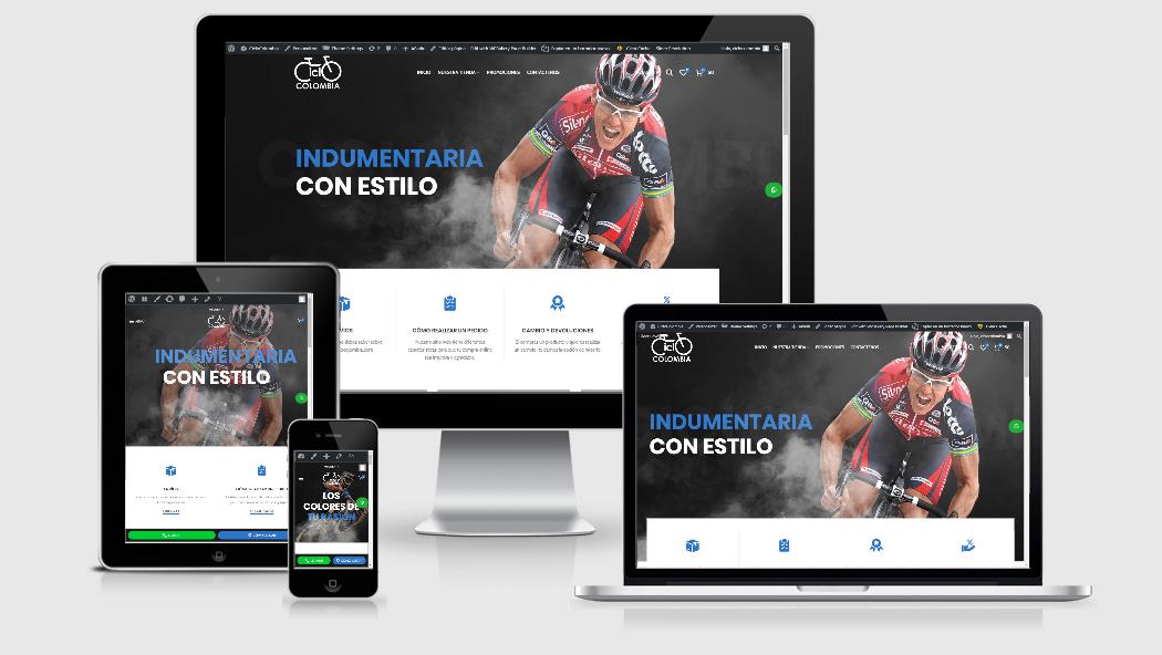 Diseño Web para Tiendas virtuales en Colombia