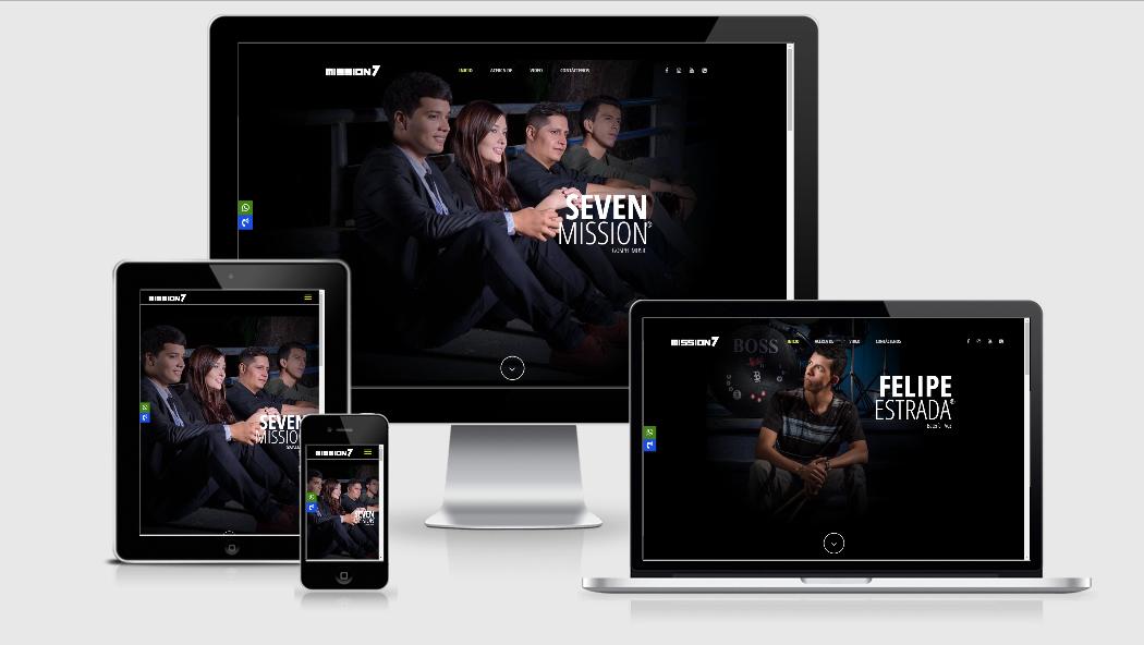 Diseño Web para grupos musicales en cali
